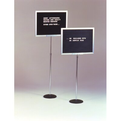Ghent Single Pedestal Letterboard