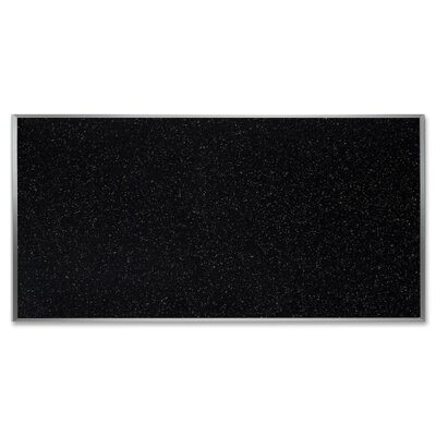 Ghent Rubber Tackboards, 8'x4', Confetti