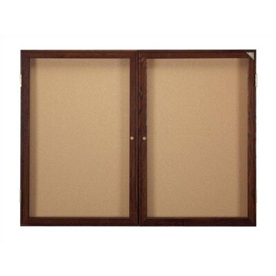 Ghent Enclosed Bulletin Board (3 door)