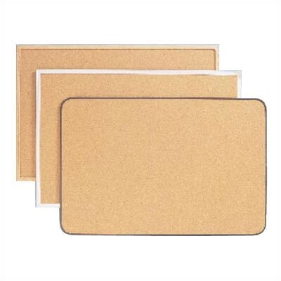 Ghent Traditional Natural Corkboard (Aluminum/Wood)