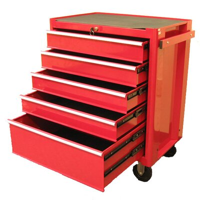 "Excel Hardware 27.1"" Roller Cabinet with 5 Drawers"