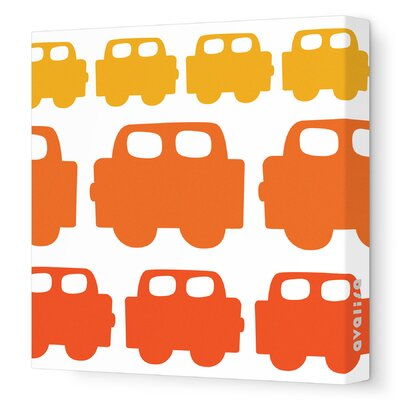 Avalisa Things That Go - Car Stretched Wall Art