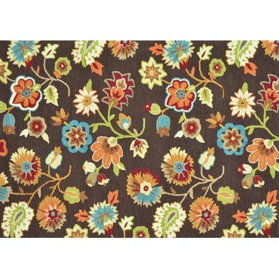 Loloi Rugs Juliana Brown Floral Rug