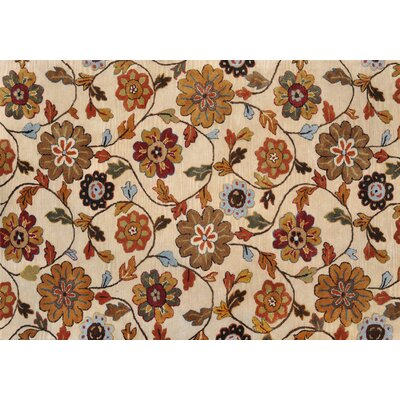 Loloi Rugs Willow Ivory Floral Rug