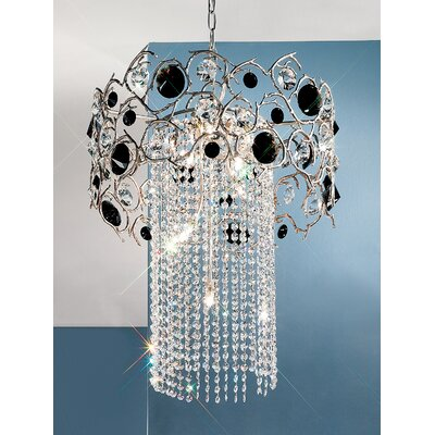 Classic Lighting Foresta Colorita 8 Light Chandelier