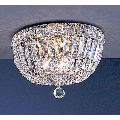 Classic Lighting Empress 3 Light Semi-Flush Mount