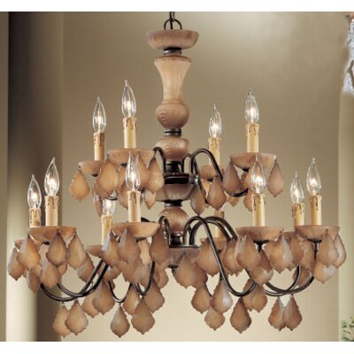Classic Lighting Dylan 12 Light Chandelier
