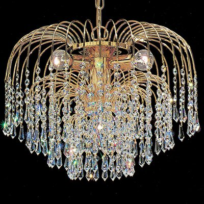 Classic Lighting Sprays 4 Light Chandelier