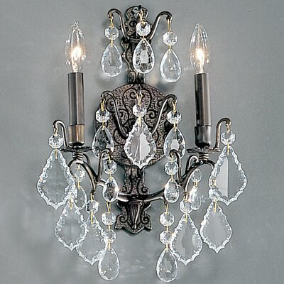 Classic Lighting Versailles 2 Light Wall Sconce