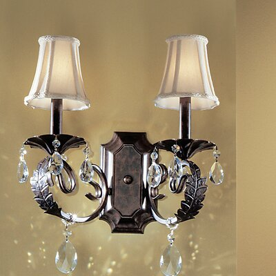 Classic Lighting Manilla II 2 Light Wall Sconce