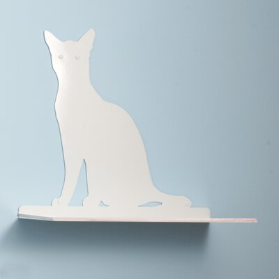 "The Refined Feline 23"" Cat Silhouette Cat Shelf Perch"