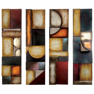 Abstract Metal Wall Art