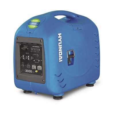 Hyundai Power Equipment 2,800 Watt Portable Gas Inverter Generator