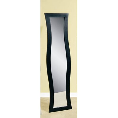 Bassett Mirror Silhouette Cheval - Ebony