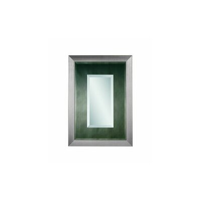 Bassett Mirror Aero Wall Mirror - Brushed Nickel