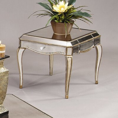 Bassett Mirror Collette Rectangle End Table