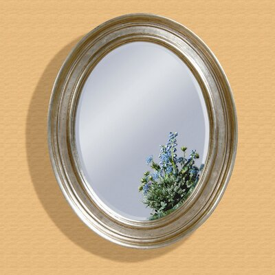 Bellagio Wall Mirror - Silver Leaf