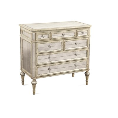 Bassett Mirror Reflections 7 Drawer Hall Chest