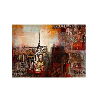 Downtown Nights Canvas