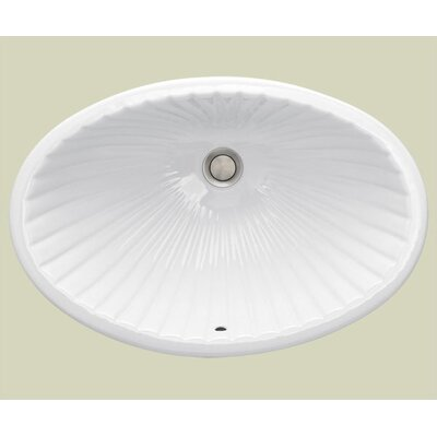 Del Mar Medium Undermount Bathroom Sink - 1034.000.0