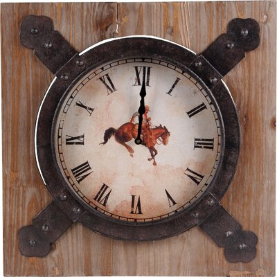 Horse Wood Wall Clock