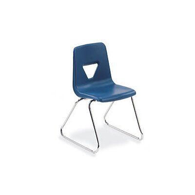 Virco 2000 Series 18&quot; Polypropylene Classroom Sled Stacking Chair
