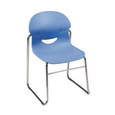 "Virco I.Q. Series 17.5"" Plastic Classroom Sled-Based Chair"