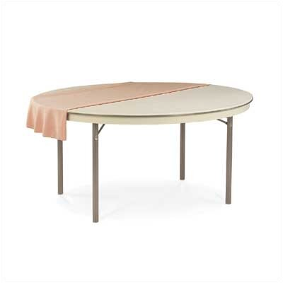 "Virco 6100 Series 72"" Round Folding Table"