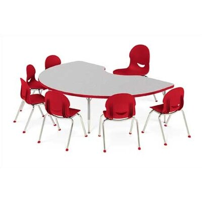 "Virco 4000 Series Activity Table with Short Legs (30"" x 60"")"