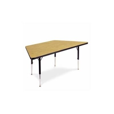 Virco 4000 Series Trapezoidal Activity Table with Standard Legs (30&quot; x 60&quot;)