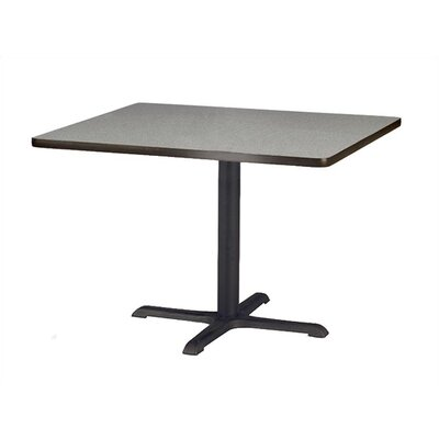"Virco Lunada Cross-Shaped Cast Iron Table Base (33"" x 33"" x 42"")"