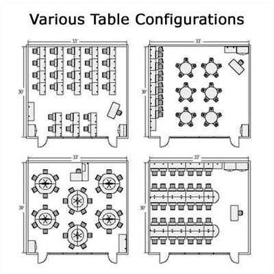 "Virco 8700 Series 24"" Trapezoidal Computer Table"