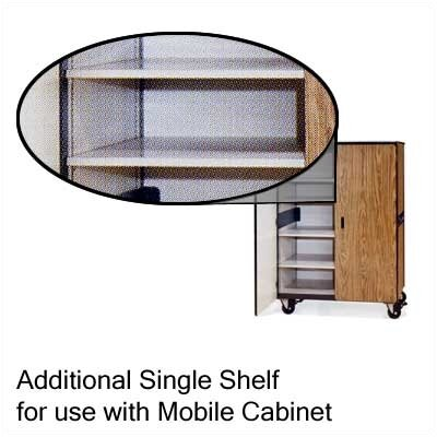 "Virco Steel Shelf for Mobile Cabinet (34"" x 24"")"