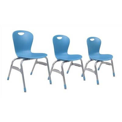 "Virco Zuma 15"" Plastic Classroom Side Chair"