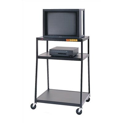 Virco Wide-Body Monitor Cart
