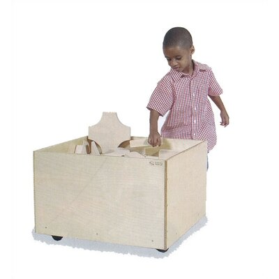 Virco Storage Bin for Blocks
