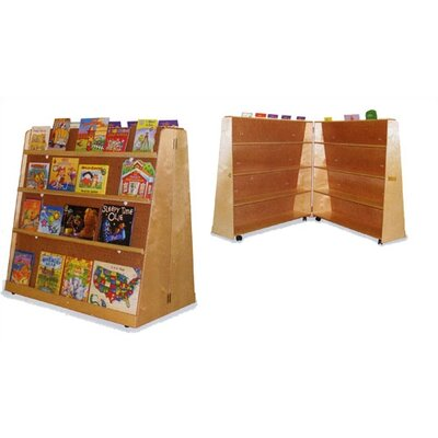 Virco Hinged Double-Sided Book Display