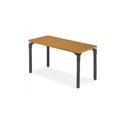 "Virco Plateau Table with Casters - 26"" High (30"" x 48"" top)"