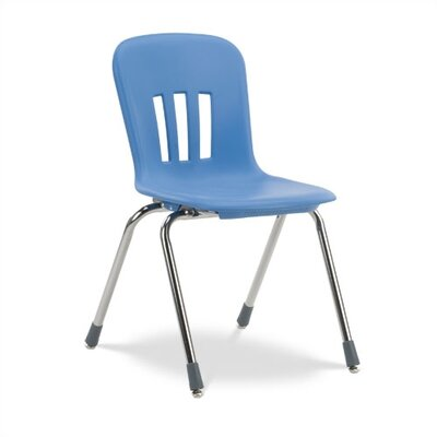 Virco Metaphor Series 16&quot;  Plastic Classroom Glides Chair