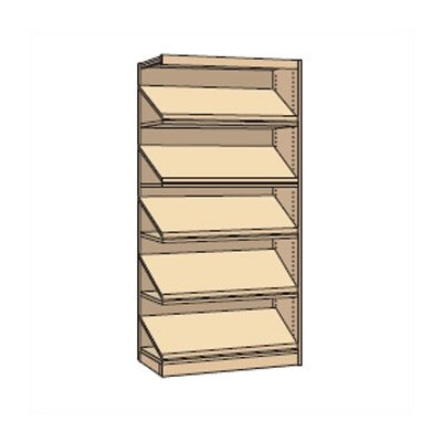 Virco Single-Faced Library Periodical Shelving Addition (82&quot; x 37&quot;)