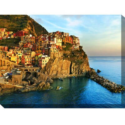 West of the Wind Outdoor Canvas Art Fresco Outdoor Canvas Art