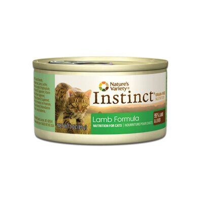 Nature's Variety Instinct Limited Ingredient Diet Lamb Canned Cat Food