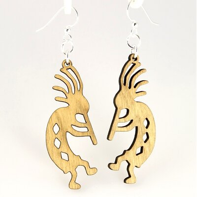 Green Tree Jewelry Kokopellis Earrings