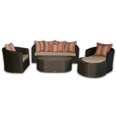 Patio Heaven Palomar Deep Seating Group with Cushions