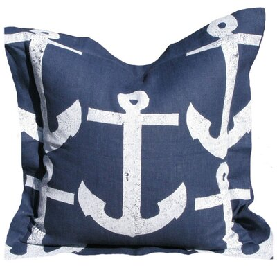 Lowcountry Linens Anchor Pillow