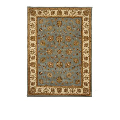 Liberty Oriental Rugs Tempest Light Blue/Ivory Rug