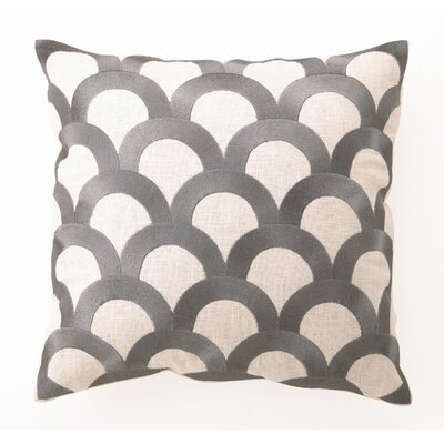 D.L. Rhein Scales Down-Filled Embroidered Pillow
