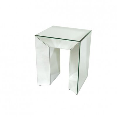 Bethel International Sterling End Table