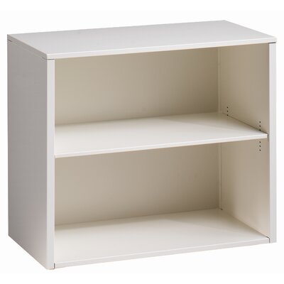 Great Openings Trace 2-High Bookcase  with 1 Adjustable Shelf