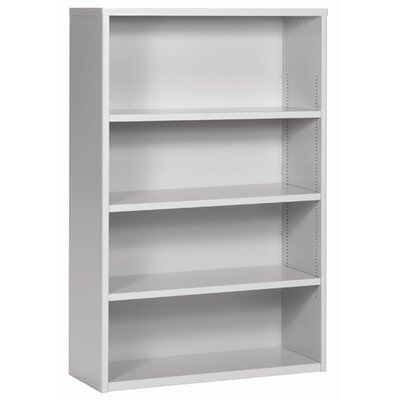 Great Openings Trace 4-High Bookcase with 3 Adjustable Shelves